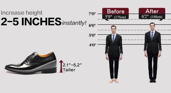pantofi cu platforma pentru barbati