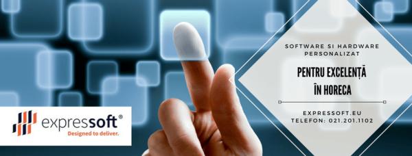 Expressoft Technology, care ofera echipamente specializate pentru HoReCa