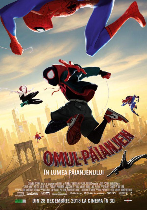 noul film de animatie spider-man