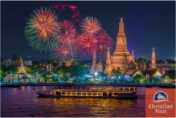 Revelion in Thailanda 2019