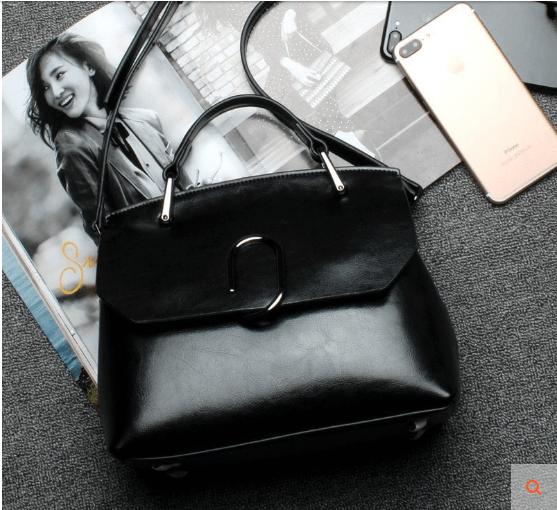 Black Side Bags