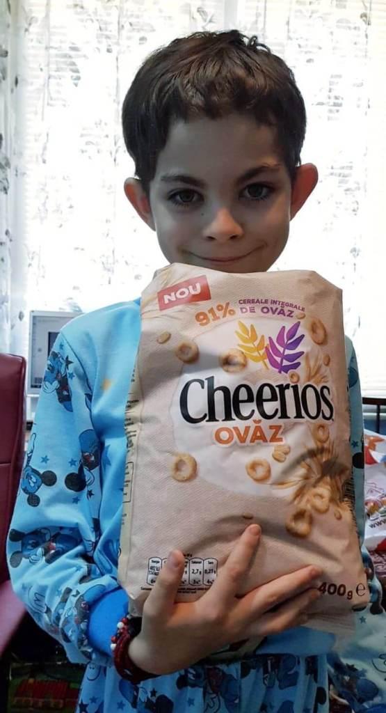 cheerios de slabire