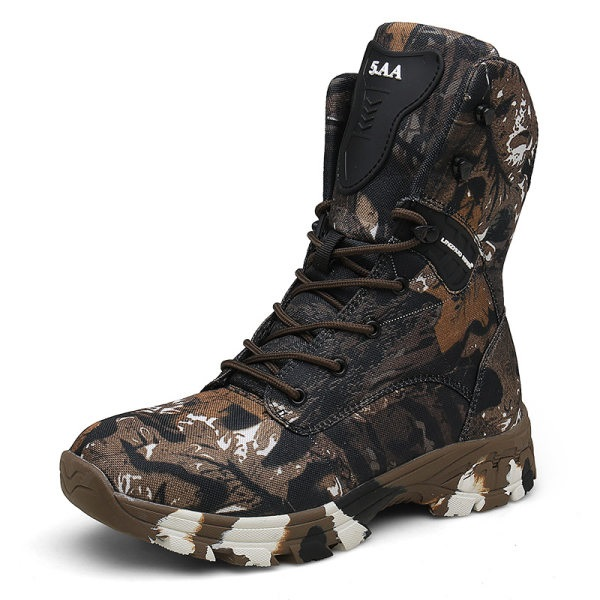 Camouflage Waterproof Tactical Boots