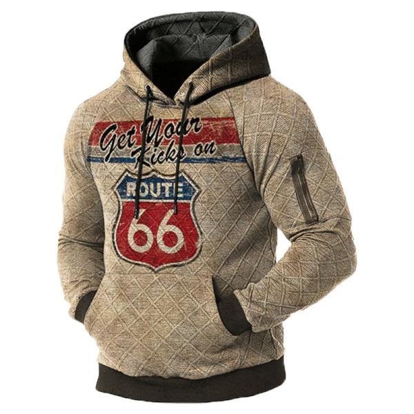Mens outdoor vintage hoodie
