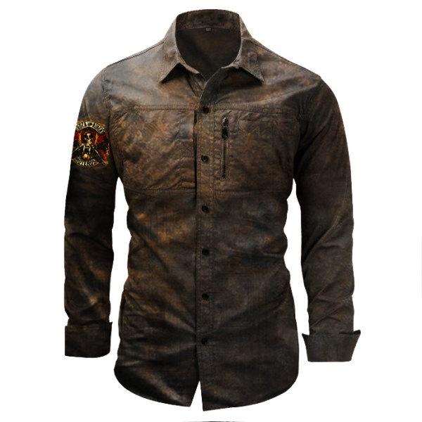 Mens Outdoor Wear-Resistant Shirt